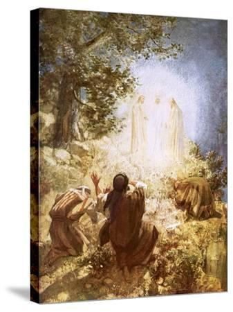 The Transfiguration-William Brassey Hole-Stretched Canvas Print