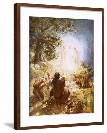 The Transfiguration-William Brassey Hole-Framed Giclee Print