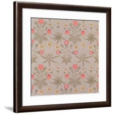 Daisy', the First Wallpaper Designed by William Morris (1834-96) in 1862-William Morris-Framed Giclee Print