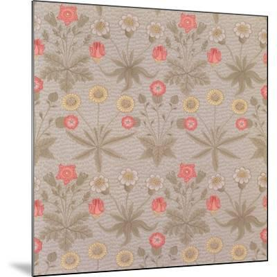 Daisy', the First Wallpaper Designed by William Morris (1834-96) in 1862-William Morris-Mounted Giclee Print