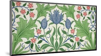 Floral Wallpaper Design-William Morris-Mounted Premium Giclee Print