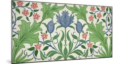 Floral Wallpaper Design-William Morris-Mounted Giclee Print