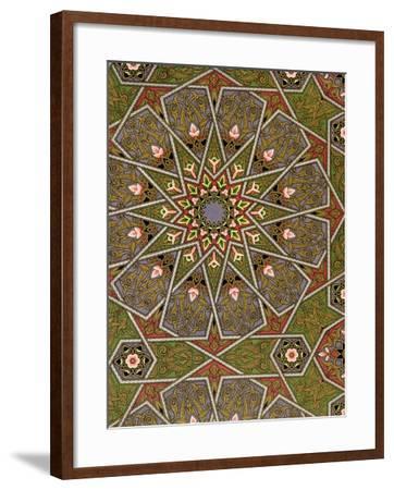 Plate I from 'studies in Design', C.1874-76 (Litho)-Christopher Dresser-Framed Giclee Print