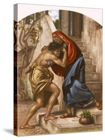 Return of the Prodigal Son-English-Stretched Canvas Print