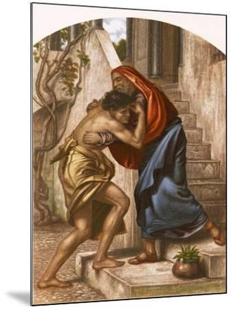 Return of the Prodigal Son-English-Mounted Giclee Print