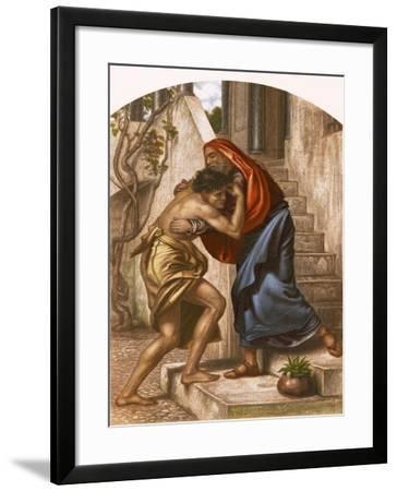 Return of the Prodigal Son-English-Framed Giclee Print
