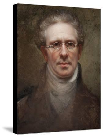 Self Portrait, 1828-Rembrandt Peale-Stretched Canvas Print