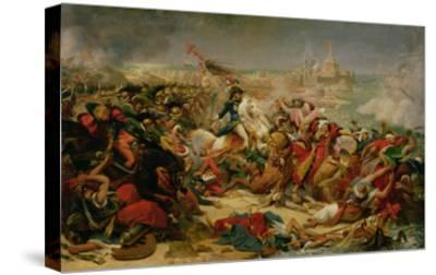 Murat Defeating the Turkish Army at Aboukir on 25 July 1799, C.1805-Baron Antoine Jean Gros-Stretched Canvas Print
