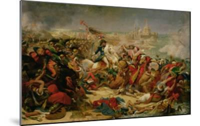 Murat Defeating the Turkish Army at Aboukir on 25 July 1799, C.1805-Baron Antoine Jean Gros-Mounted Giclee Print