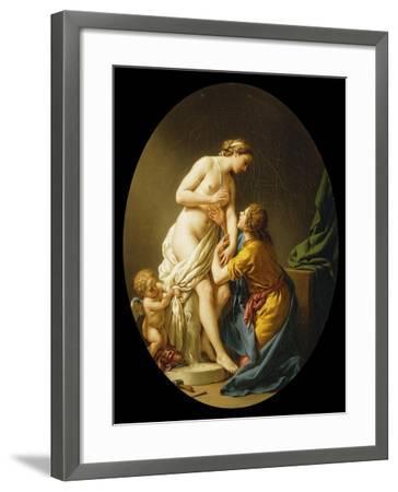 Pygmalion and Galatea, 1781-Louis Jean Francois I Lagrenee-Framed Giclee Print