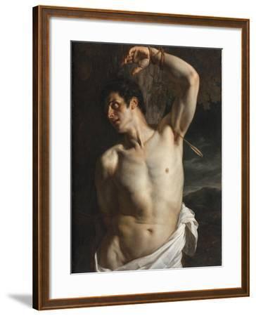 St. Sebastian-Hippolyte Delaroche-Framed Giclee Print