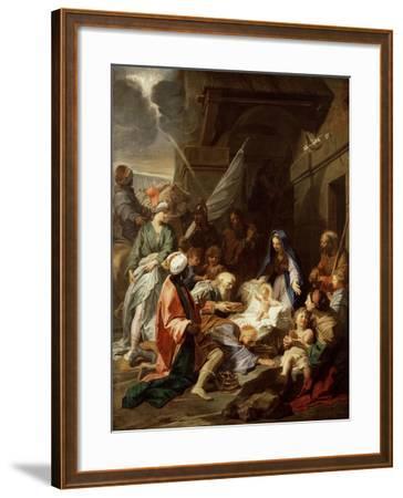 Adoration of the Magi, 1700/10-Jean-Baptiste Jouvenet-Framed Giclee Print