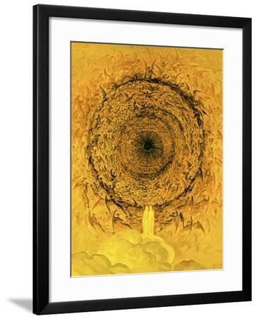 The Vision of the Empyrean, Illustration from 'The Dore Gallery'-Gustave Dor?-Framed Giclee Print