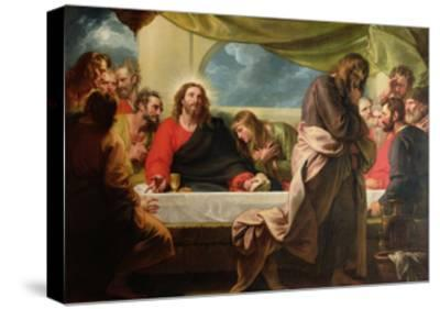 The Last Supper, 1786-Benjamin West-Stretched Canvas Print