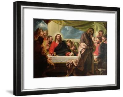 The Last Supper, 1786-Benjamin West-Framed Giclee Print