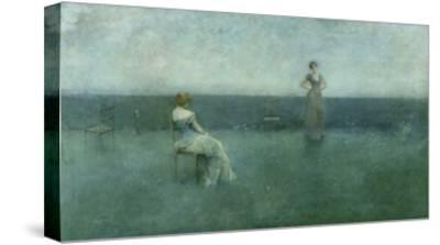 The Recitation, 1891-Thomas Wilmer Dewing-Stretched Canvas Print