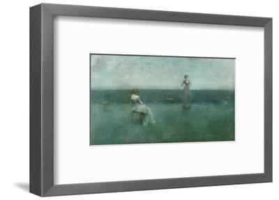 The Recitation, 1891-Thomas Wilmer Dewing-Framed Premium Giclee Print