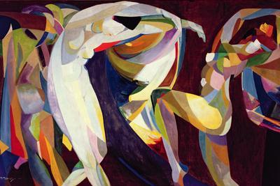 Dances, 1914/15-Arthur Bowen Davies-Giclee Print