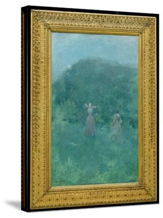 Summer, 1893-Thomas Wilmer Dewing-Stretched Canvas Print