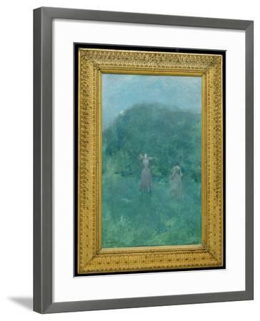 Summer, 1893-Thomas Wilmer Dewing-Framed Giclee Print