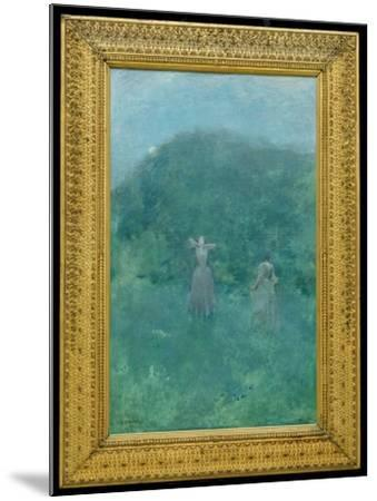 Summer, 1893-Thomas Wilmer Dewing-Mounted Giclee Print
