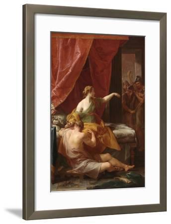 Samson and Delilah, 1766-Pompeo Batoni-Framed Giclee Print