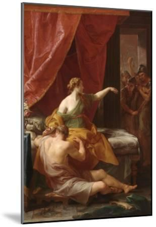 Samson and Delilah, 1766-Pompeo Batoni-Mounted Giclee Print