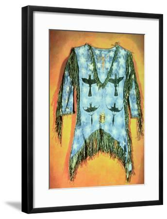 'Ghost Dance' Dress, Arapaho Tribe (Buckskin)-American-Framed Giclee Print
