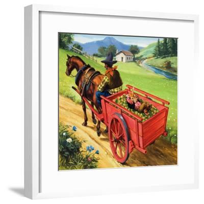 Bear Rabbit-Virginio Livraghi-Framed Giclee Print