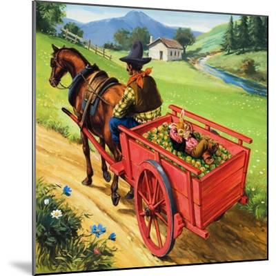 Bear Rabbit-Virginio Livraghi-Mounted Giclee Print