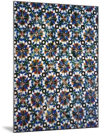 Azuleyos Tiles (Ceramic)--Mounted Giclee Print