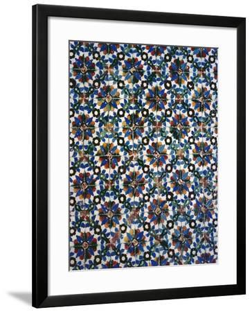 Azuleyos Tiles (Ceramic)--Framed Giclee Print