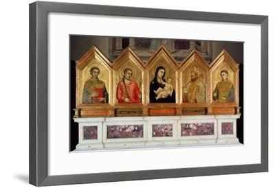 St. Reparata Polyptych (See also 65558-69)-Giotto di Bondone-Framed Giclee Print