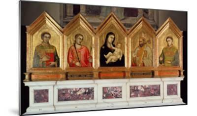 St. Reparata Polyptych (See also 65558-69)-Giotto di Bondone-Mounted Giclee Print