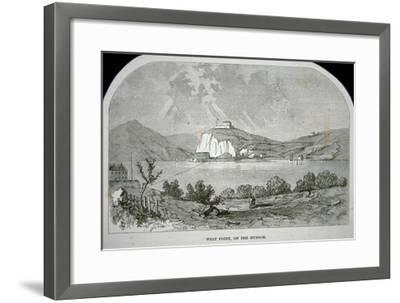 West Point, the Key Fort That Benedict Arnold Plotted to Deliver to the British During the War-American-Framed Giclee Print