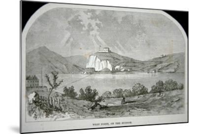 West Point, the Key Fort That Benedict Arnold Plotted to Deliver to the British During the War-American-Mounted Giclee Print