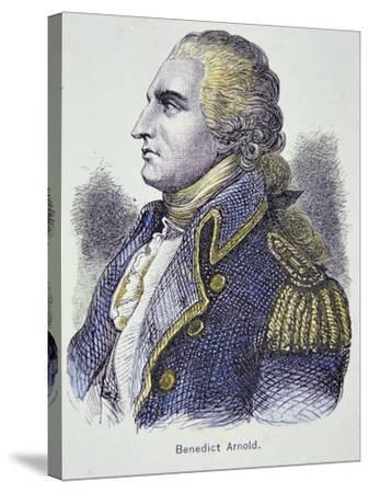 Benedict Arnold (Colour Litho)-American-Stretched Canvas Print