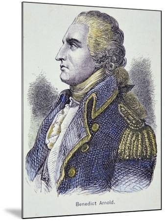 Benedict Arnold (Colour Litho)-American-Mounted Giclee Print