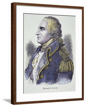 Benedict Arnold (Colour Litho)-American-Framed Giclee Print