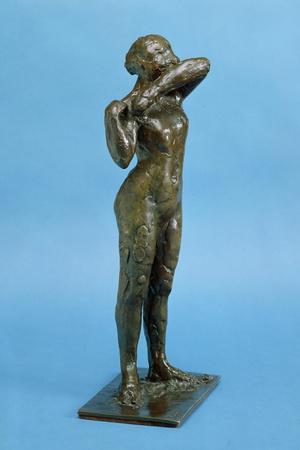 Dancer (Bronze)-Edgar Degas-Stretched Canvas Print
