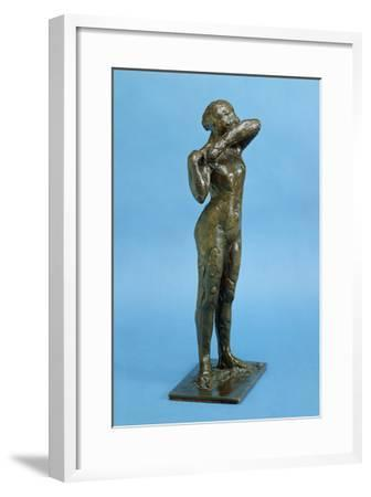 Dancer (Bronze)-Edgar Degas-Framed Giclee Print