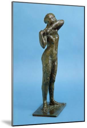 Dancer (Bronze)-Edgar Degas-Mounted Giclee Print