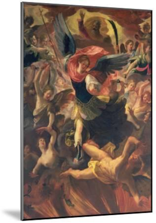 The Archangel Michael Vanquishing the Devil-Antonio Maria Viani-Mounted Giclee Print