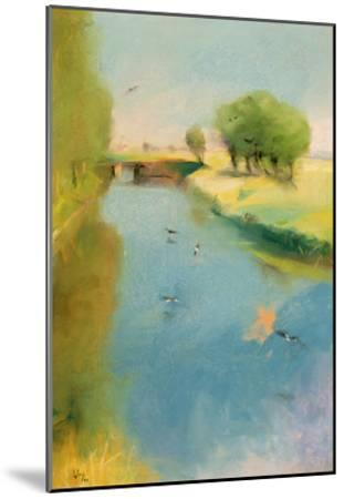Canal, 1897 (Pastel on Canvas)-Lesser Ury-Mounted Giclee Print
