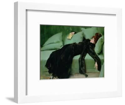 After the Ball-Ramon Casas i Carbo-Framed Premium Giclee Print