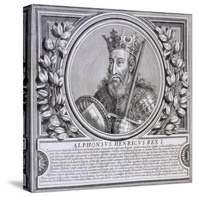 Afonso I of Portugal (Litho)--Stretched Canvas Print