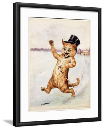 Top Cat!-Louis Wain-Framed Giclee Print