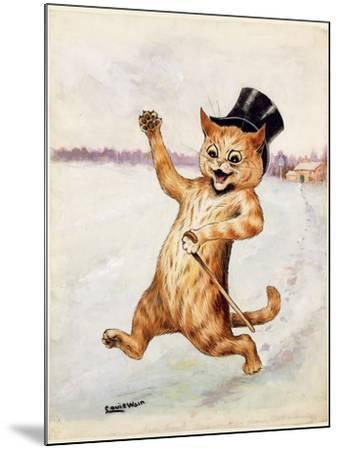 Top Cat!-Louis Wain-Mounted Giclee Print