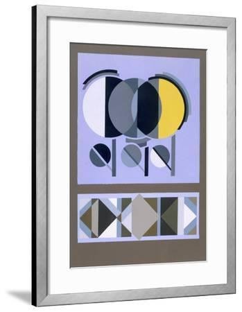 Designs from 'Relais', C.1920S-1930 (Colour Litho)-Edouard Benedictus-Framed Giclee Print