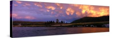 Firehole River Yellowstone National Park WY USA--Stretched Canvas Print